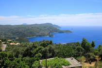 Detailed description of the Corfu Holiday House Lakones Sea View in Lakones with sea view with many pictures.