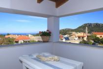 Detailed description of Corfu Villa Maria in Krini near Agios Georgios Pagon (Pagi) with sea view with many pictures.