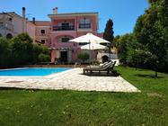 Detailed Description of Corfu apartments Cha Nanakas Village Inn in Kerkyra (Corfu town) with pool.with many pictures.