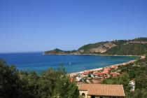 Detailed description of Corfu Holiday House Zeus in Agios Georgios Pagon (Pagi) with fantastic sea view with many pictures.