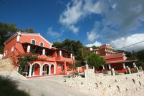Detailed description of Corfu House Paleo Palace with sea view in Palaiokastritsa (Paleokastritsa) with many pictures.