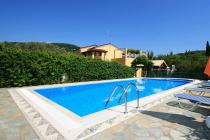 Detailed description of Corfu pool villa Grigoris with private pool in Agios Georgios Pagon (Pagi) with many pictures.