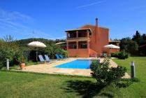 Detailed description of Corfu Villa Ismini with Private Pool in Agios Georgios Pagon (Pagi) with many pictures.