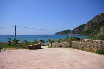 Detailed Description of the Corfu Apartment Blue House in Agios Georgios Pagon in Corfu with pictures.