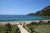 Detailed description of Corfu Apartments Blue House Suite in Agios Georgios Pagon (Pagi) in Corfu with many pictures.
