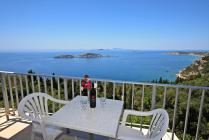 Detailed description of Corfu Hotel The 3 Brothers in Afionas with fantastic sea view with many pictures.