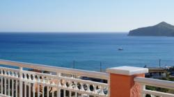 Detailed description of Corfu Apartments Sissy with fantastic sea view in Agios Georgios Pagon (Pagi) with many pictures.
